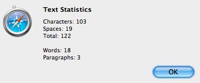 Text Statistics