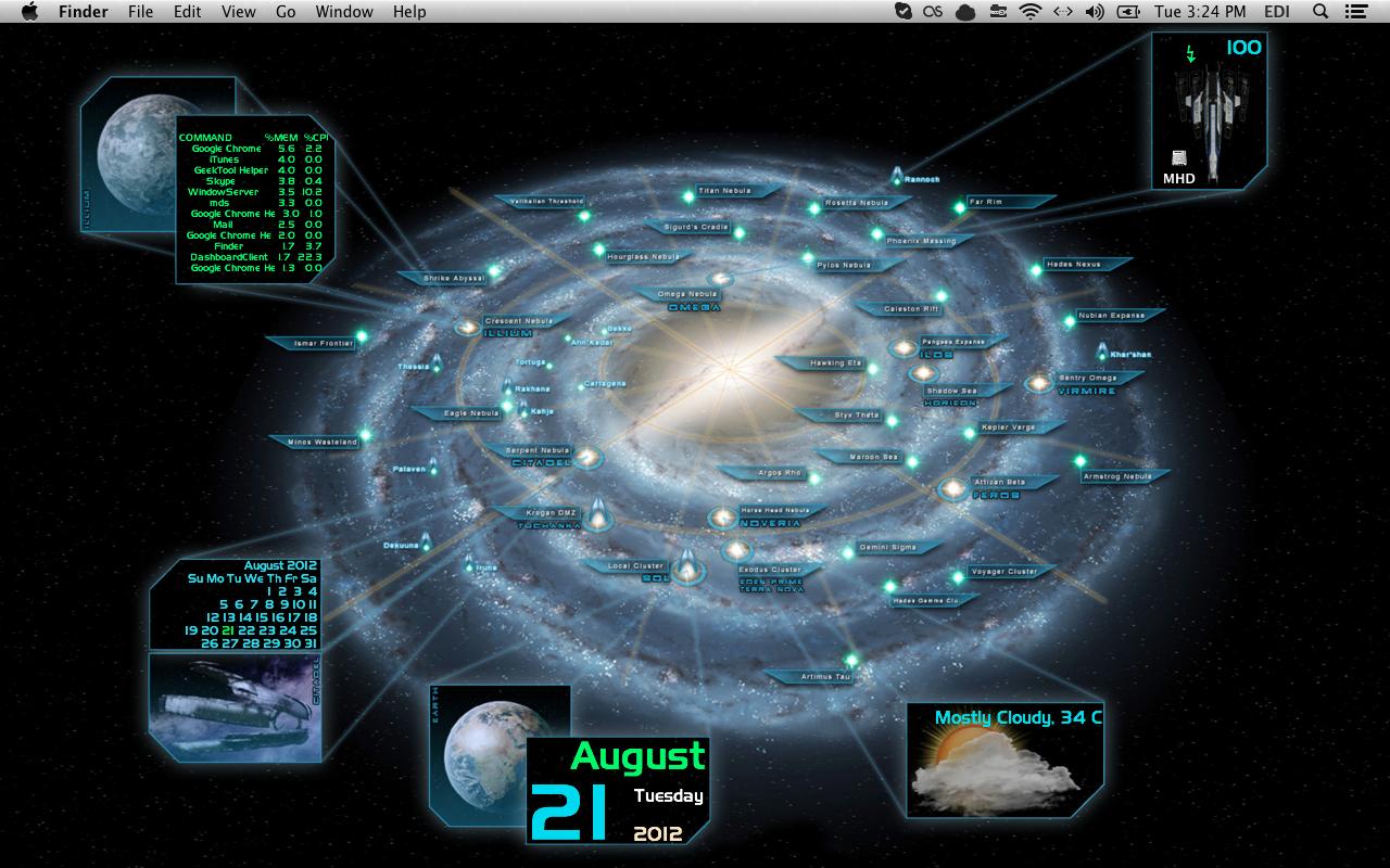Mass Effect Star Map.Mass Effect Galaxy Map Desktop Geeklets