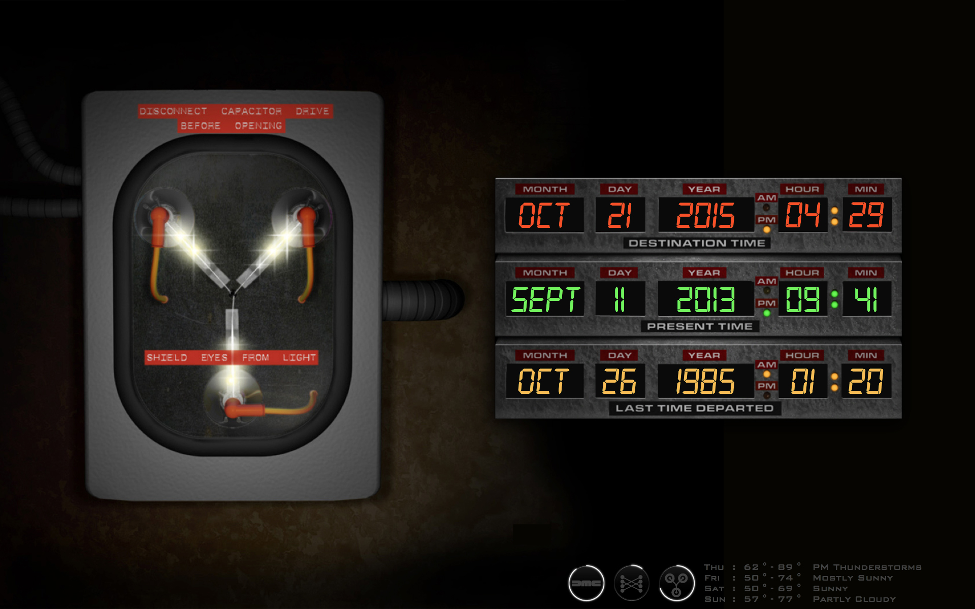 back to the future desktop | geeklets