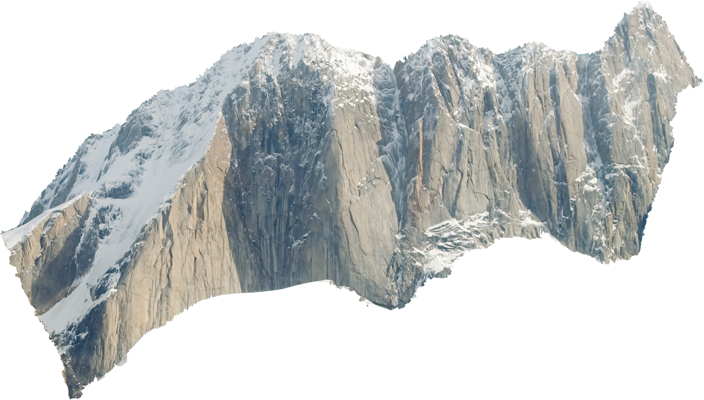 3D Mountains OSX Desktop | Geeklets