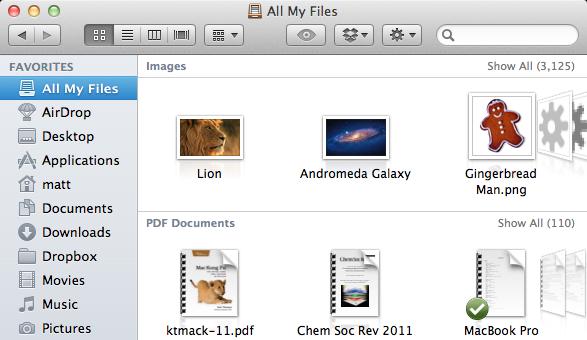 All my files mac
