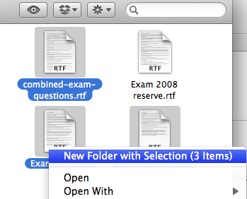 how to create new folder using keyboard
