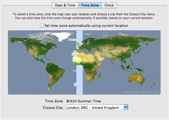 timezone uk